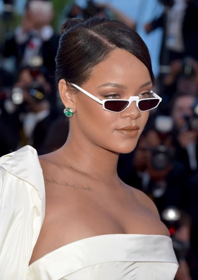 Rihanna with Shades
