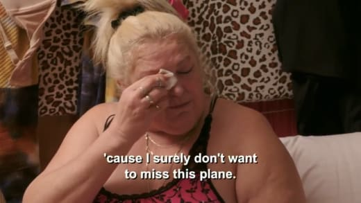 Angela Deem - I surely don't want to miss this plane