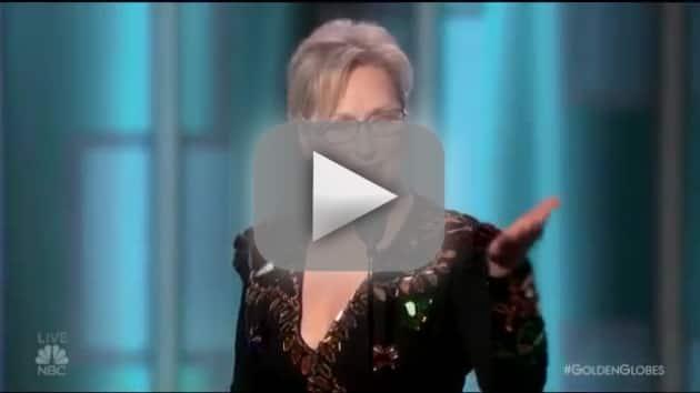 Meryl streep attacks donald trump at golden globes and trump res