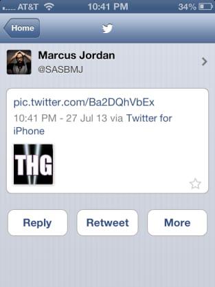 Marcus Jordan Tweet