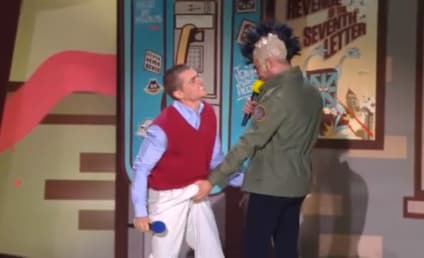 Zac Efron Punches Dave Franco in the Junk at MTV Movie Awards