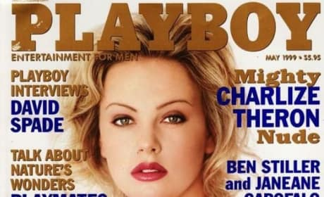 Charlize Theron Playboy Cover