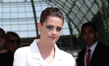 Kristen Stewart Goes Biker Chic for Paris Fashion Week
