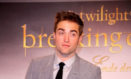 Robert Pattinson in Berlin, Germany