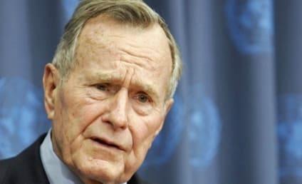 George H.W. Bush Hospitalized With Bronchitis