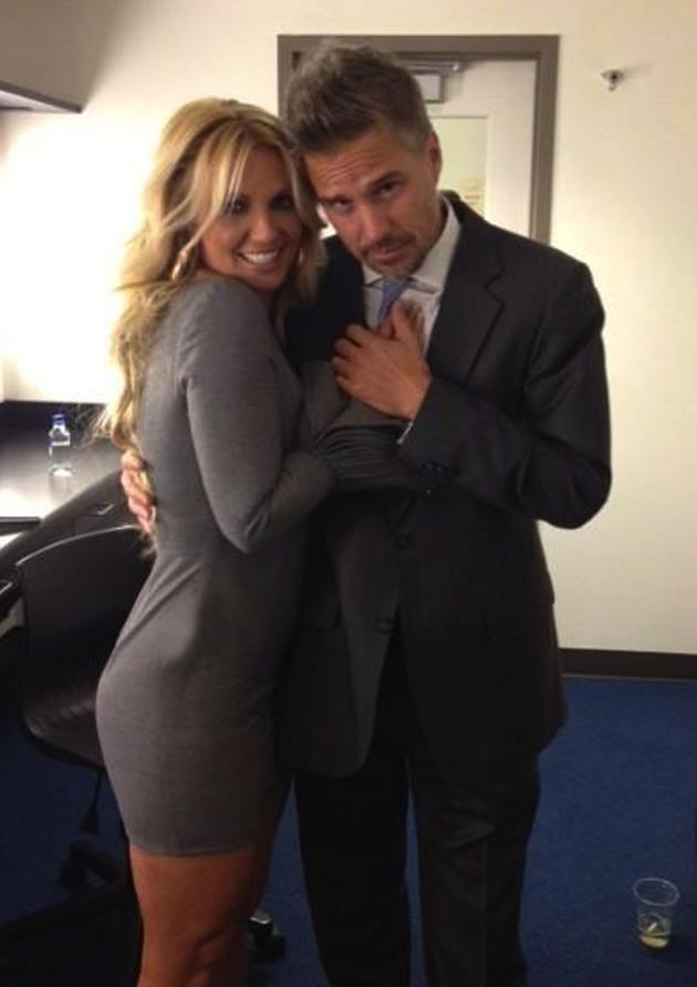 Cute Britney Spears and Jason Trawick Photo