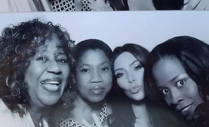 Kim Kardashian Bridal Shower Pics: Photo Booth Fun!