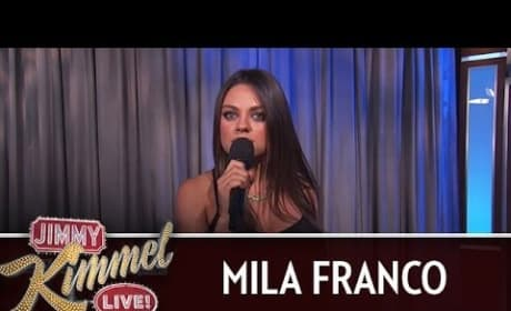 Mila Kunis Puts Expecting Men on Blast