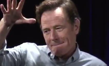 Bryan Cranston Burns Comic-Con Fan, Literally Drops His Mic