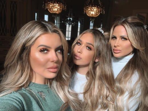 Brielle Biermann, Ariana Biermann, and Kim Zolciak: Three for One
