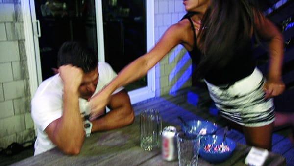 Sammi Punches Ronnie