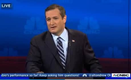 Ted Cruz OBLITERATES CNBC For Lack of Substantive Questions ... in Response to Substantive Question
