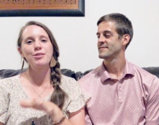 Jill Duggar y su esposo juntos
