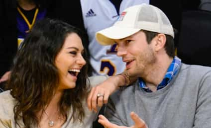 Ashton Kutcher and Mila Kunis: Married! For Real!