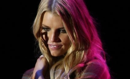 Jessica Simpson Parties with CaCee Cobb, Pals