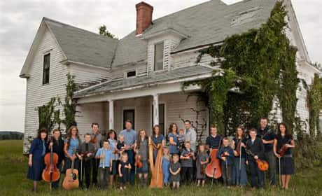 Duggar Family Picture