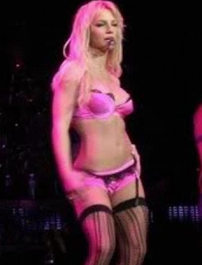 Britney Spears Throwback Photo