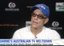 Jean-Claude Van Damme Gets Bored, Storms Out of Interview