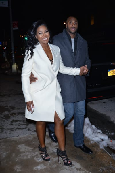 Kenya Moore and Matt Jordan Spotted In New York