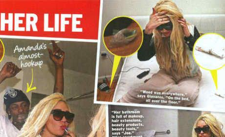 Amanda Bynes Partying Pics