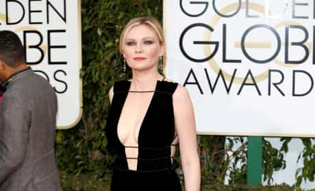 Kirsten Dunst: 73rd Annual Golden Globe Awards