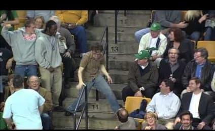 Celtics Fan Rocks Out to Bon Jovi, Thrills Crowd on Arena Scoreboard