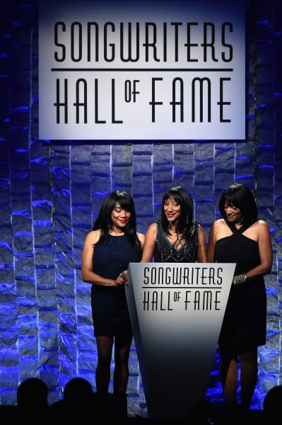 Joni Sledge, Debbie Sledge and Kim Sledge