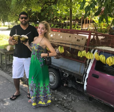 Farrah Abraham and Simon Saran on Vacation