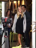 Kristin Filming