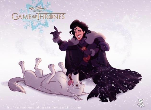 Jon Snow Disney Style