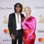 Amber Rose and Wiz Khalia at Pre-Grammy Gala