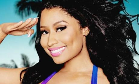 Nicki Minaj Salute Photo