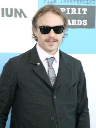 Heath Ledger Red Carpet Pic