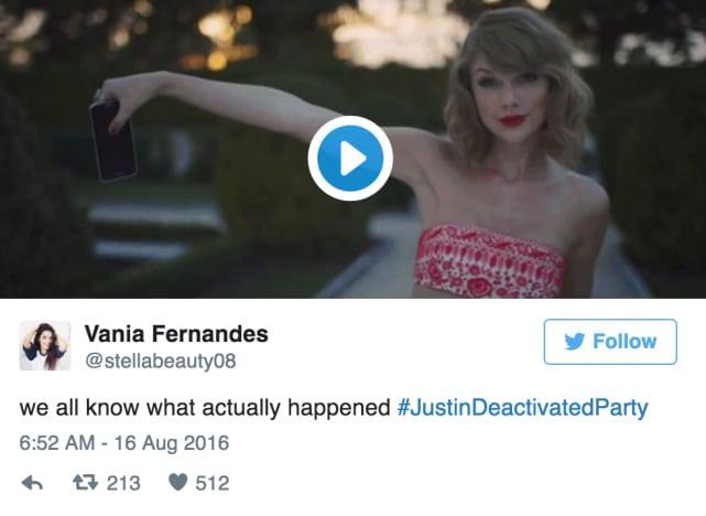Blame Taylor!