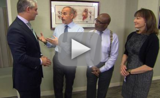Matt Lauer and Al Roker Undergo Prostate Exams