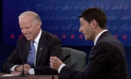 V.P. Debate: Celebrities Tweet Reactions to Biden-Ryan Brawl