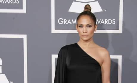 Jennifer Lopez Grammy Dress