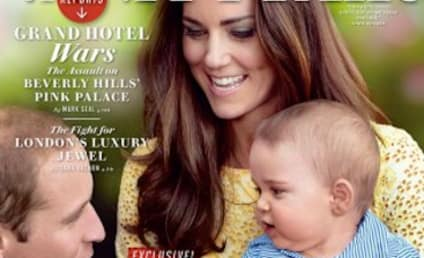 Kate Middleton, Prince George Cover Vanity Fair: First Look!