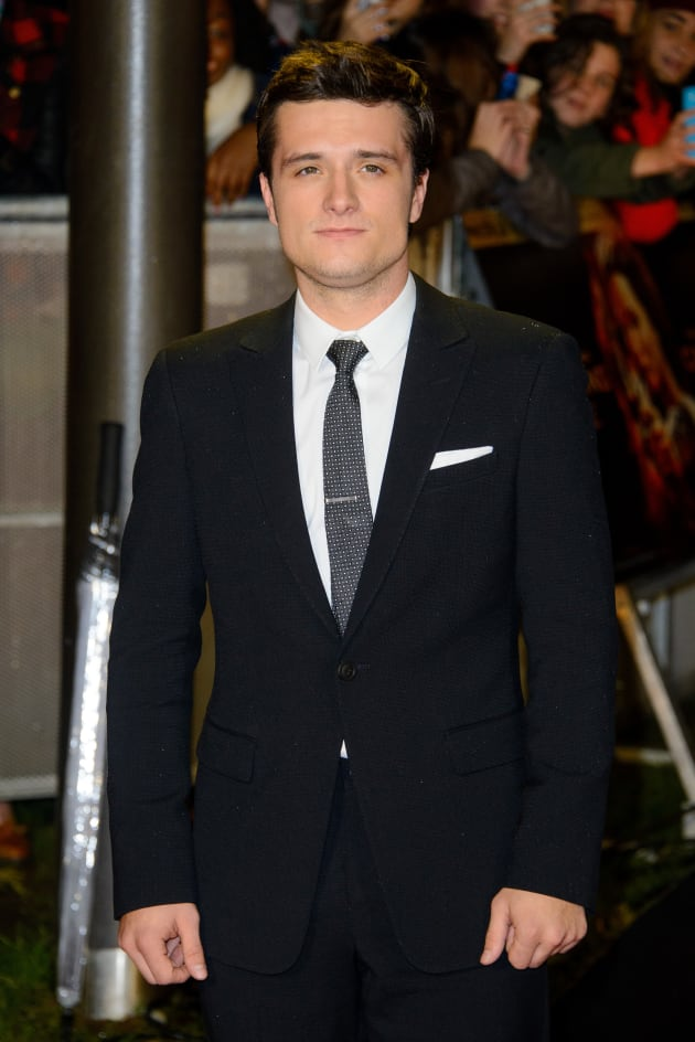 Josh Hutcherson at Catching Fire Premiere