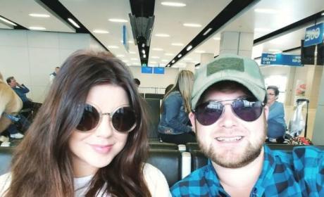 Amy Duggar, Dillon King Selfie
