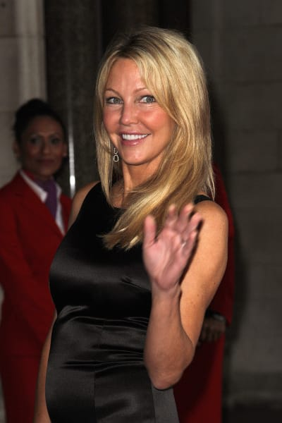 Heather Locklear in London