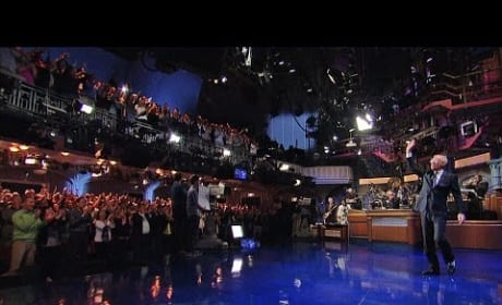 David Letterman's Final Late Show Entrance