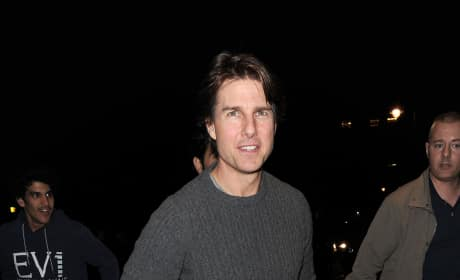 Tom Cruise in Soho