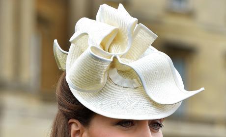 Kate Middleton Wearing a Hat