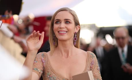 Emily Blunt at SAG Awards 2017