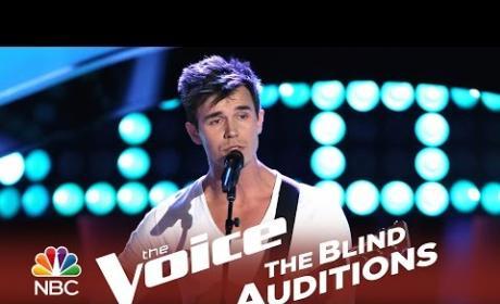 John Martin - Sweet Pea (The Voice Audition)