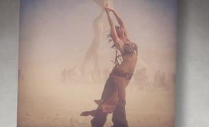 Stacy Keibler Embraces Burning Man, Free Hug Deli