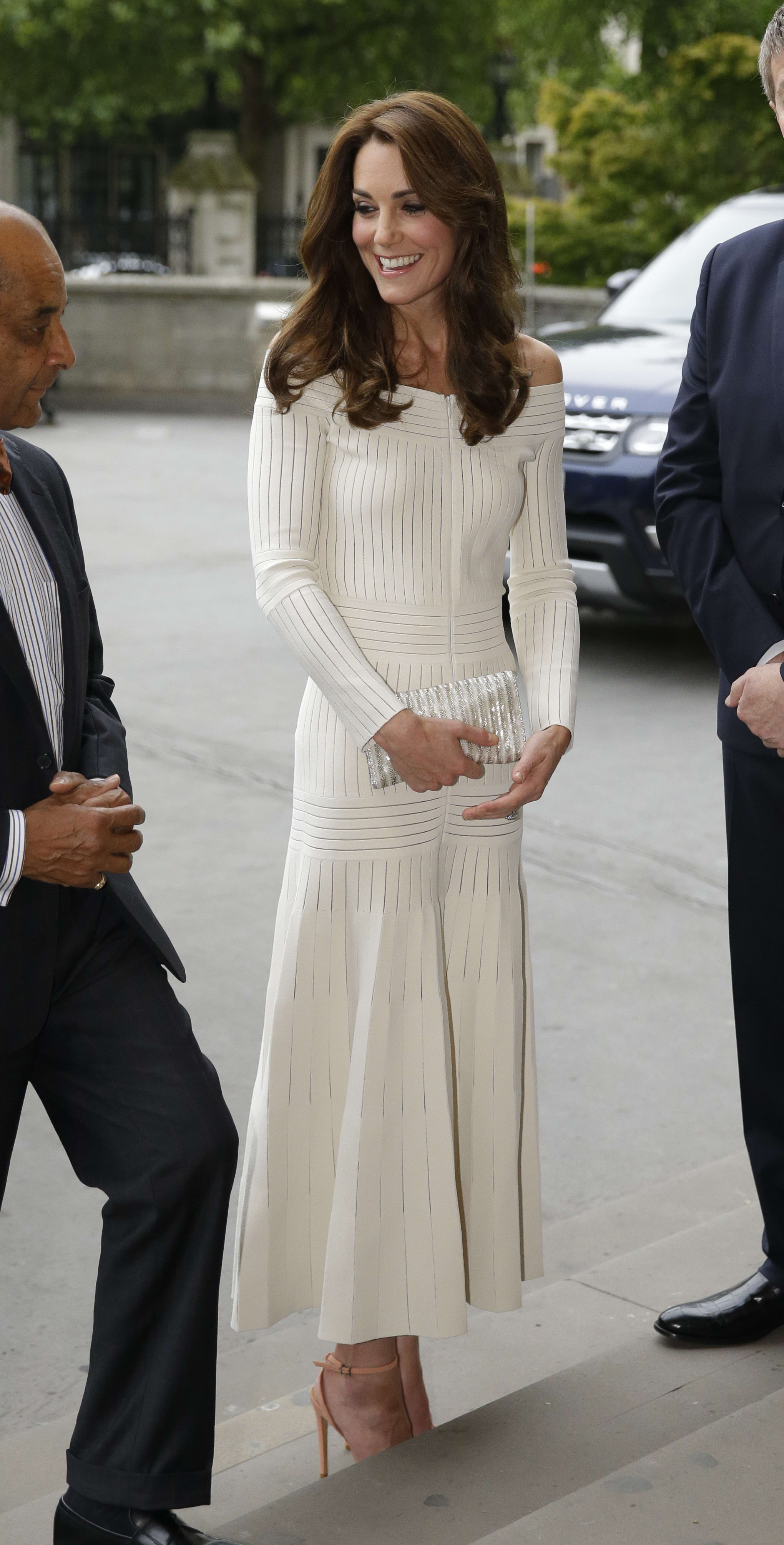 6856d5129bcf42 Kate Middleton Wardrobe Malfunction: Duchess Dressed Inappropriately For  Kids' Party?