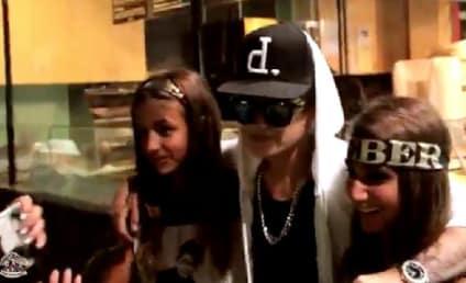 Justin Bieber Impersonator Pranks Fans in Boston
