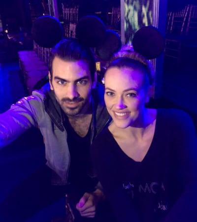 Nyle DiMarco and Peta Murgatroyd